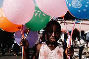 Chale Wote Street Arts Festival. Jamestown, Ghana. August 2017. Photo: Francis Kokoroko