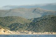 Looking over Doughboy Bay and Table Hill, The Southern Circuit, Stewart Island / Rakiura, New Zealand Ⓒ Davis Ulands | davisulands.com