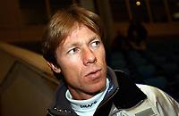 Skøyter: Verdenscup Heerenveen 13.01.2002. Geir Karlstad.<br /><br />Foto: Ronald Hoogendoorn, Digitalsport