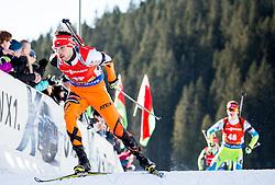 Matej Kazar (SVK) during Men 12,5 km Pursuit at day 3 of IBU Biathlon World Cup 2015/16 Pokljuka, on December 19, 2015 in Rudno polje, Pokljuka, Slovenia. Photo by Vid Ponikvar / Sportida