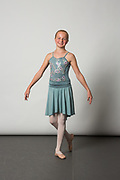 Dance Connection Palo Alto students pose for photos during Cinderella Photo Day at Dance Connection Palo Alto in Palo Alto, California, on April 30, 2017. (Stan Olszewski/SOSKIphoto)
