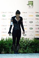Kristina Boe, (GER), Highlander 82, Winnie Schluter - Individuals Women Final Vaulting - Alltech FEI World Equestrian Games™ 2014 - Normandy, France.<br /> © Hippo Foto Team - Jon Stroud<br /> 05/09/2014