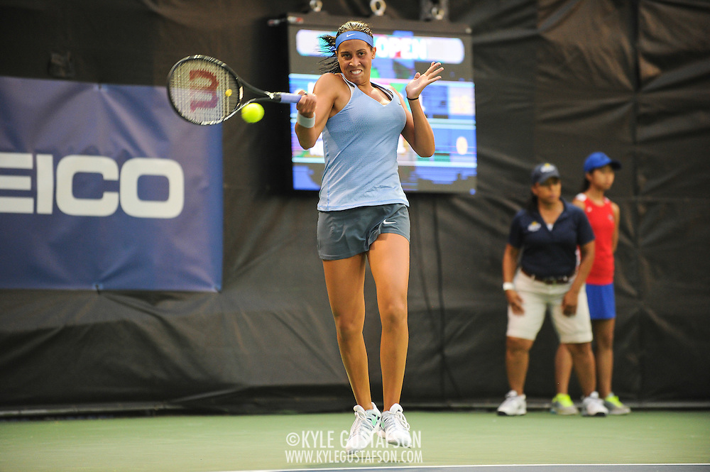 Washington DC - August 3rd, 2013 - Madison Keys at the 2013 CitiOpen Tennis Tournament in Washington, D.C.