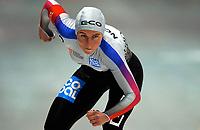 Skøyter: Verdenscup Heerenveen 12.01.2002. Anette Tønsberg fra Norge.<br /><br />Foto: Ronald Hoogendoorn, Digitalsport