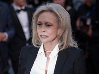 Faye Dunaway at the gala screening for the film The Last Face at the 69th Cannes Film Festival, Friday 20th May 2016, Cannes, France. Photography: Doreen Kennedy