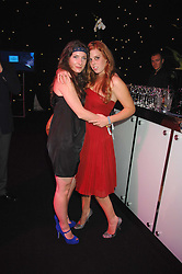 Left to right, SARAH LANGRIDGE and HRH PRINCESS BEATRICE OF YORK at the Berkeley Square End of Summer Ball in aid of the Prince's Trust held in Berkeley Square, London on 27th September 2007.<br /><br />NON EXCLUSIVE - WORLD RIGHTS
