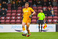 Ben Wilson of Bradford City (13) in action during the EFL Sky Bet League 1 match between Scunthorpe United and Bradford City at Glanford Park, Scunthorpe, England on 27 April 2019.