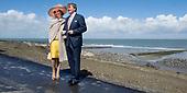 Koning en koningin  bezoeken Zeeuws Vlaanderen