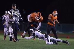 1 November 2019: Burbank Reavis Rams at Normal Community Ironmen football, 1st round playoffs IHSA 7A, Normal, Illinois