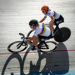 23-07-2020: Wielrennen: baantraining: Assen <br /> Kirsten Wild, Amy Pieters