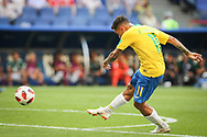 Philippe Coutinho of Brazil during the 2018 FIFA World Cup Russia, round of 16 football match between Brazil and Mexico on July 2, 2018 at Samara Arena in Samara, Russia - Photo Thiago Bernardes / FramePhoto / ProSportsImages / DPPI