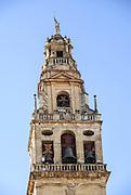 Cordoba, Andalucia, Spain Alminar tower of La Mezquita The Great Mosque