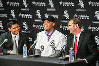 Jose Abreu press conference at US Cellular Field in Chicago