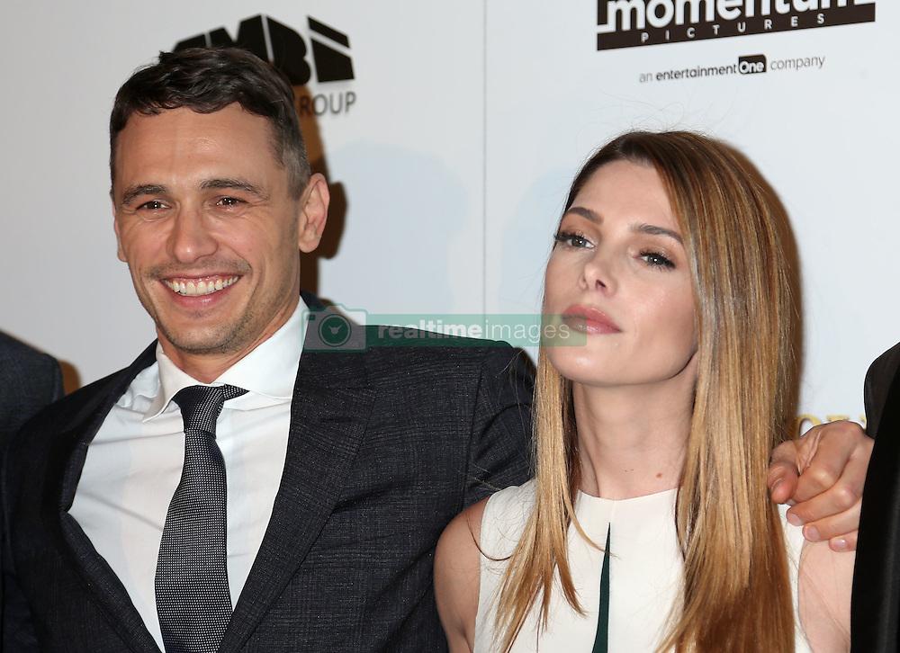 James Franco, Ashley Greene, In Dubious Battle, film premiere, Arclight Hollywood Cinemas (Hollywood, California)