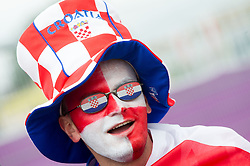 14-06-2012 VOETBAL: UEFA EURO 2012 DAY 7: POLEN OEKRAINE<br /> Fan of Croatia during the Euro 2012 football championships match Italy v Croatia at the stadium in Poznan. <br /> ***NETHERLANDS ONLY***<br /> ©2012-FotoHoogendoorn.nl