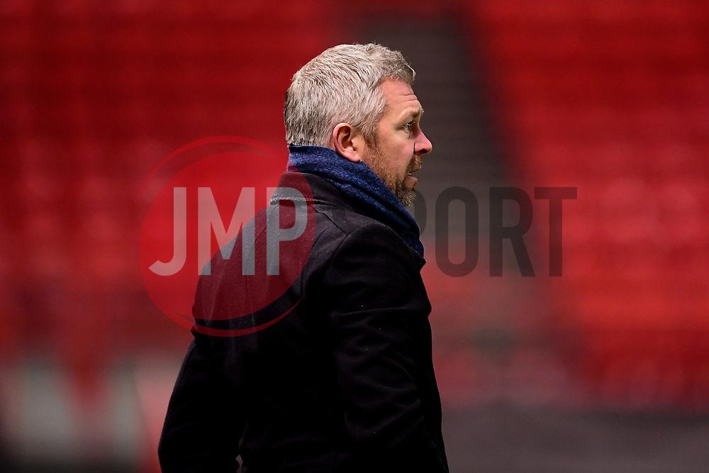 Willie Kirk head coach of Everton Women - Mandatory by-line: Ryan Hiscott/JMP - 17/02/2020 - FOOTBALL - Ashton Gate Stadium - Bristol, England - Bristol City Women v Everton Women - Women's FA Cup fifth round
