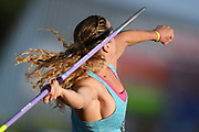 Mathilde Andraud competes in women Javelin during the Athletics French Championships 2018, in Albi, France, on July 7th, 2018 - Photo Philippe Millereau / KMSP / ProSportsImages / DPPI