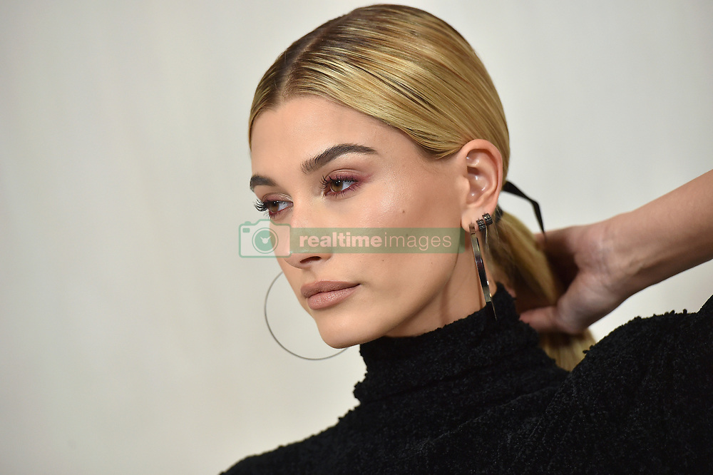 Hammer Museum Gala in the Garden. Hammer Museum, Los Angeles, California. 14 Oct 2017 Pictured: Hailey Baldwin. Photo credit: AXELLE/BAUER-GRIFFIN / MEGA TheMegaAgency.com +1 888 505 6342