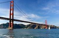 Golden Gate Bridge - San Francisco, California.