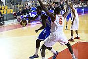 DESCRIZIONE : Roma Campionato Lega A 2013-14 Acea Virtus Roma Banco di Sardegna Sassari<br /> GIOCATORE :  Thomas Omar Abdul<br /> CATEGORIA : palleggio<br /> SQUADRA : Banco di Sardegna Sassari<br /> EVENTO : Campionato Lega A 2013-2014<br /> GARA : Acea Virtus Roma Banco di Sardegna Sassari<br /> DATA : 26/12/2013<br /> SPORT : Pallacanestro<br /> AUTORE : Agenzia Ciamillo-Castoria/M.Simoni<br /> Galleria : Lega Basket A 2013-2014<br /> Fotonotizia : Roma Campionato Lega A 2013-14 Acea Virtus Roma Banco di Sardegna Sassari <br /> Predefinita :