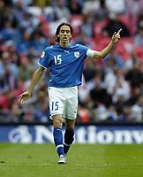 Photo: Jonathan Butler.<br /> England v Israel. UEFA European Championships Qualifying. 08/09/2007.<br /> Yossi Benayoun of Israel.