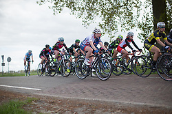Abigail Dentus (GBR) of Team GB rides mid-pack during the second lap of the Omloop van Borsele - a 107.1 km road race, starting and finishing in s'-Heerenhoek on April 22, 2017, in Borsele, the Netherlands.