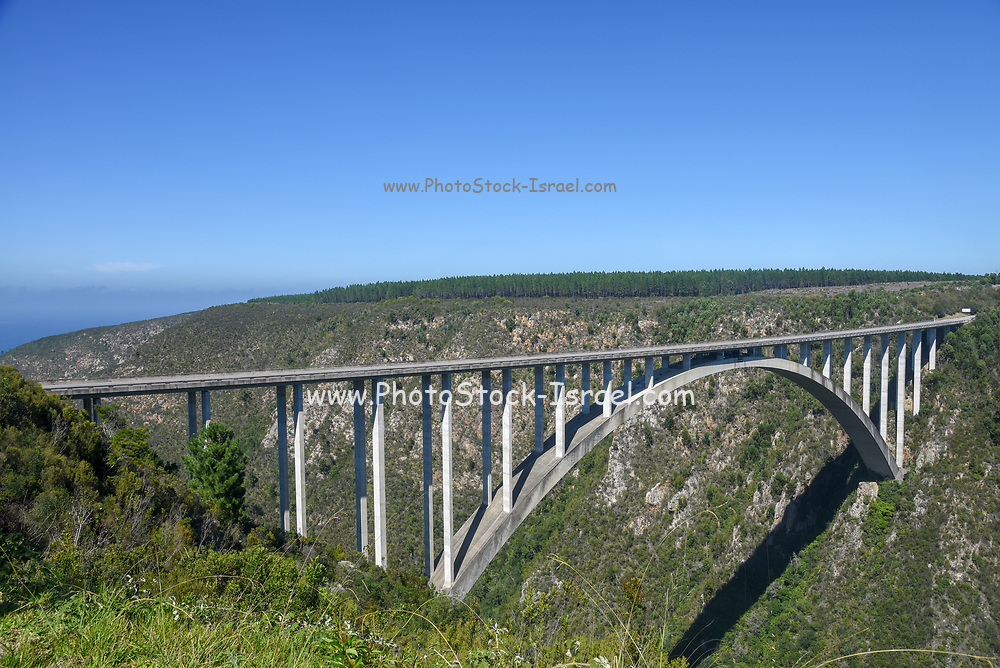 Bloukrans Bridge is an arch bridge located near Nature's Valley, Western Cape, South Africa.