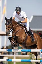 Houtzager Marc, NED, Sterrehofs Dante<br /> Nederlands Kampioenschap Springen<br /> De Peelbergen - Kronenberg 2020<br /> © Hippo Foto - Dirk Caremans<br />  06/08/2020
