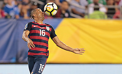July 19, 2017 - Philadelphia, PA, USA - Philadelphia, PA - Wednesday July 19, 2017: Justin Morrow during a 2017 Gold Cup match between the men's national teams of the United States (USA) and El Salvador (SLV) at Lincoln Financial Field. (Credit Image: © John Dorton/ISIPhotos via ZUMA Wire)