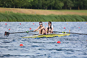 Race: 81  Women's Coxless Pairs - Championship - Heat<br /> <br /> The Metropolitan Regatta 2019<br /> Sunday<br /> <br /> To purchase this photo, or to see pricing information for Prints and Downloads, click the blue 'Add to Cart' button at the top-right of the page.