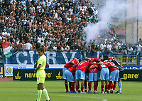 "Empoli (Florence, Italy) Stadium ""Carlo Castellani"" Match day 4 Serie A Campionship Empoli F.C.-S.S.C.Napoli September 23:<br /> Player's of Napoli before the match on September 23, 2007 in Empoli, Italy. Empoli and Napoli 0-0<br /> Photo by Gianni Nucci/Insidefoto"