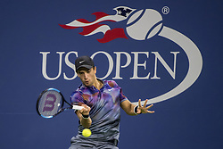 August 30, 2017 - New York, New York, USA - AUG 30, 2017: Borna Coric (CRO) during the 2017 U.S. Open Tennis Championships at the USTA Billie Jean King National Tennis Center in Flushing, Queens, New York, USA. (Credit Image: © David Lobel/EQ Images via ZUMA Press)
