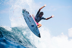 BALI, INDONESIA - MAY 19: Rio Waida of Indonesia is eliminated from the 2019 Corona Bali Protected with an equal 17th finish after placing second in Heat 12 of Round 3 at Keramas on May 19, 2019 in Bali, Indonesia. (Photo by Matt Dunbar/WSL via Getty Images)