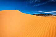 Coral Pink Sand Dunes State Park, Kane County, Utah USA