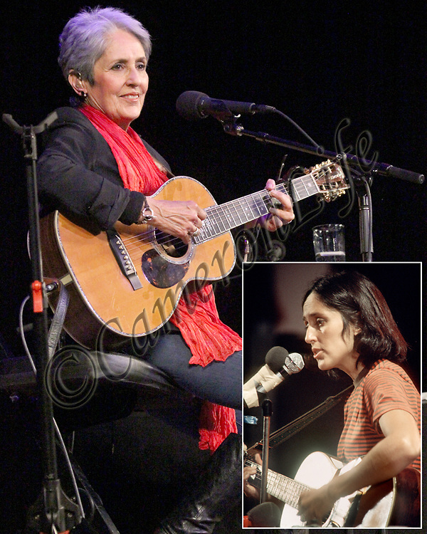 Joan Baez Now And Then 2012 1970 Cameronlife Photo Library