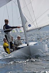 International Dragon Class Scottish Championships 2015.<br /> <br /> Day 1 racing in perfect conditions.<br /> <br /> GBR720, Aimee<br /> <br /> <br /> Credit Marc Turner