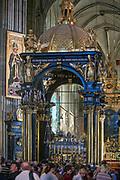 Konfesja Św. Stanisława w Katedrze Wawelskiej.<br /> Confession of Sts. Stanislaus in Wawel Cathedral.