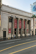 Jimmy Kimmel Live theater on Hollywood Boulevard Hollywood Los Angeles California