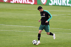 May 30, 2018 - Lisbon, Portugal - Portugal's forward Goncalo Guedes in action during a training session at Cidade do Futebol (Football City) training camp in Oeiras, outskirts of Lisbon, on May 30, 2018, ahead of the FIFA World Cup Russia 2018 preparation matches against Belgium and Algeria...........during the Portuguese League football match Sporting CP vs Vitoria Guimaraes at Alvadade stadium in Lisbon on March 5, 2017. Photo: Pedro Fiuzaduring the Portugal Cup Final football match CD Aves vs Sporting CP at the Jamor stadium in Oeiras, outskirts of Lisbon, on May 20, 2015. (Credit Image: © Pedro Fiuza/NurPhoto via ZUMA Press)