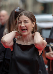The Edinburgh International Film Festival Opening Night Premiere features the film Puzzle. Directed by Mark Turtletaub it stars Kelly Macdonald and Irrfan Khan. <br /> <br /> Pictured: Kelly Macdonald