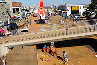 Marketplace. Soweto is a suburb of Johannesburg, South Africa, short for South Western Township. A symbol of the uprising against apartheid.