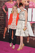 """WESTWOOD, CA - APRIL 28: Angela Kinsey and Ellie Kemper arrives at the premiere of Universal Pictures' """"Bridesmaids"""" held at Mann Village Theatre on April 28, 2011 in Los Angeles, California."""