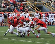 The University of Dayton Flyers vs. Davidson <br /> Football Overcomes Slow Start To Defeat Davidson, 42-21