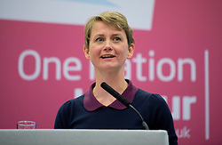 © London News Pictures. 21/09/2013.  Brighton, UK. Yvette Cooper speaking at the Labour Party National Womens Conference in Brighton  a day ahead of the start of the Labour Party COnference in Brighton. Photo credit: Ben Cawthra/LNP