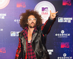 Redfoo.<br /> Red carpet at the MTV EMA, Glasgow.