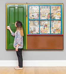 Consisting of work by anonymous amateurs, famous artists and forgotten figures alike, Cut and Paste: 400 Years of Collage is the first survey exhibition of collage ever to take place anywhere in the world. This wide-ranging exhibition dispels the myth that collage is a 20th-Century invention set in motion by cubist artists such as Pablo Picasso and Juan Gris, and points to a richer and much more diverse history.<br /> <br /> Pictured: Peter Blake's The Toy Shop, 1962. Wood, glass, paper, plastic, fabric and mixed media