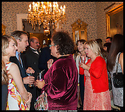 JESSICA LAMBERT; ANTHONY LANE; SOPHIE HANNAH; ALLISON PEARSON, launch of Sophie Hannah's Agatha Christie ' The Monogram Murders ' at the Ritz London. 8 September 2014