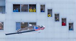 31.12.2017, Olympiaschanze, Garmisch Partenkirchen, GER, FIS Weltcup Ski Sprung, Vierschanzentournee, Garmisch Partenkirchen, Training, im Bild Sebastian Colloredo (ITA) // Sebastian Colloredo of Italy during his Practice Jump for the Four Hills Tournament of FIS Ski Jumping World Cup at the Olympiaschanze in Garmisch Partenkirchen, Germany on 2017/12/31. EXPA Pictures © 2017, PhotoCredit: EXPA/ Jakob Gruber