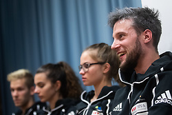 Jernej Kruder during PZS press conference after IFSC Climbing World Championships in Hachioji (JPN) 2019, on August 23, 2019 at Ministry of Education, Science and Sport, Ljubljana, Slovenia. Photo by Grega Valancic / Sportida