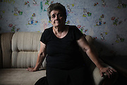 """Krystyna Gil was five years old when she witnessed the massacre of most of her family at Szczurowa where 93 Roma were murdered by Nazis. Krystyna was handed to her grandmother by her mother who was killed. Five people survived the massacre, when they were told by Polish Police to run away. Szczurowa near Tarnow, Poland 1943..Roma Holocaust """"Porrajmos"""", the Roma word means literally """"the devouring"""", where it is estimated that between 500 thousand and one and a half million Roma were exterminated across Germany, Poland, ex-Yugoslavia and Czechoslovakia during the 1930s and 1940s. The Roma were the first race to be subjected to experimentation by the Nazis, as part of Joseph Goebbels' 'Final Solution'."""